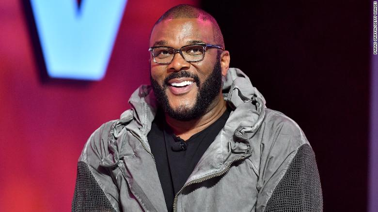 Movie mogul, actor, and philanthropist Tyler Perry brings aid to the Bahamas.