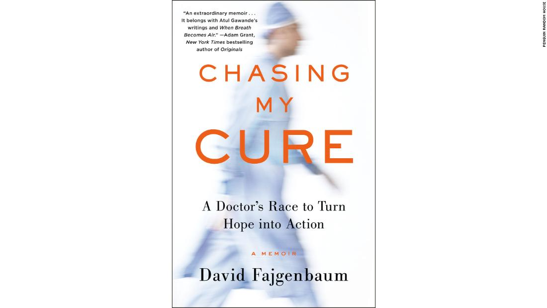Fajgenbaum's book, an account of his illness and recovery, came out this week.