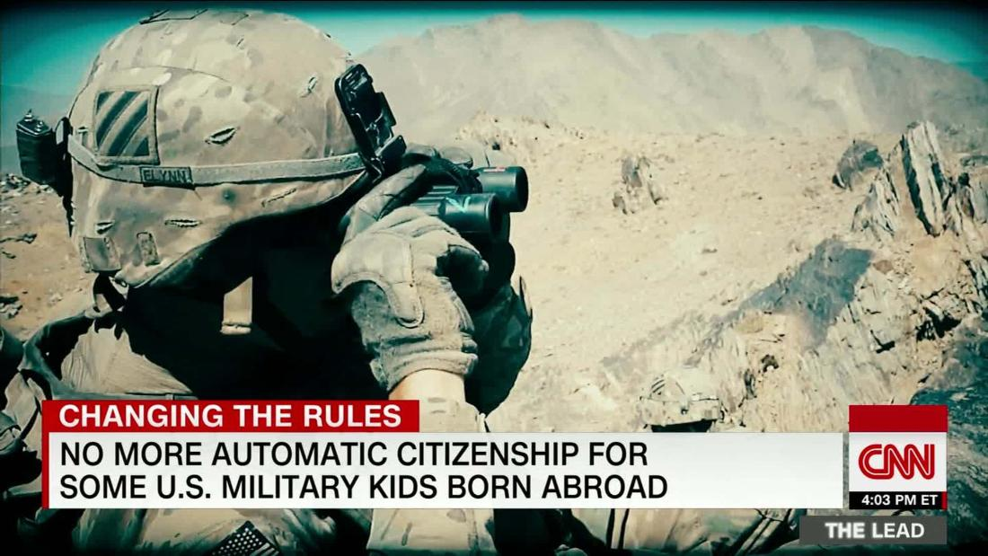 Bipartisan bill aims to reverse change in how some children of military and federal employees overseas become citizens