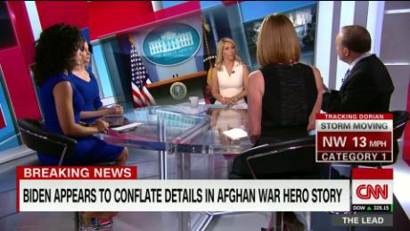 Biden appears to conflate Afghan war stories on campaign trail