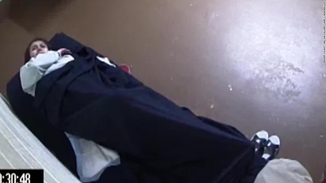 A Denver woman is suing after giving birth in a jail cell