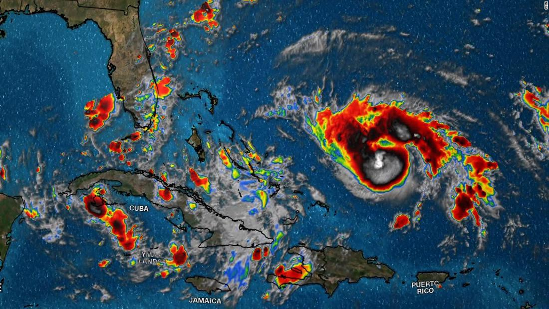 Here's what Hurricane Dorian is expected to do before it makes landfall