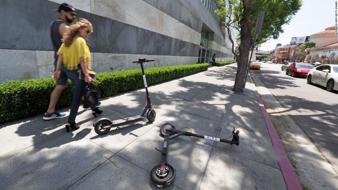 Roller sind ein großes problem für die Städte. Niemand weiß, wie es zu lösen noch