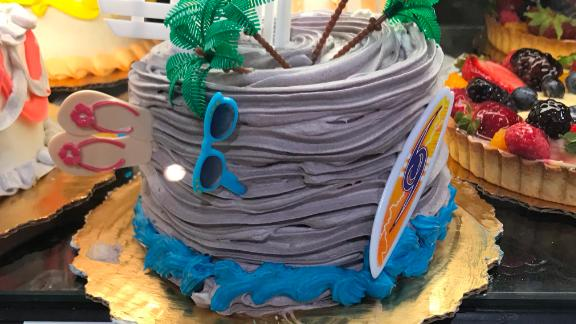 The hurricane cakes are all over Publix stores in Florida.