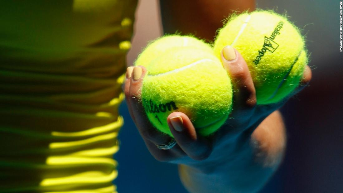 The reason tennis balls are yellow -- or maybe green
