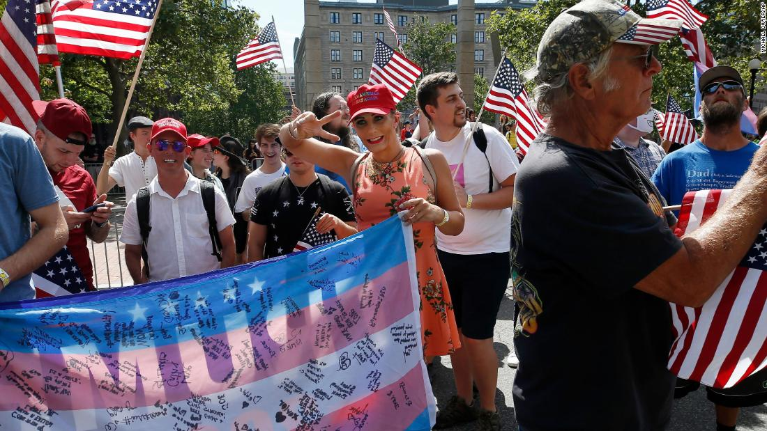 Straight Pride parade in Boston draws counterprotesters