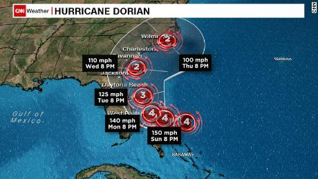 Bahamas pummeled by Hurricane Dorian\'s 185-mph winds as ...