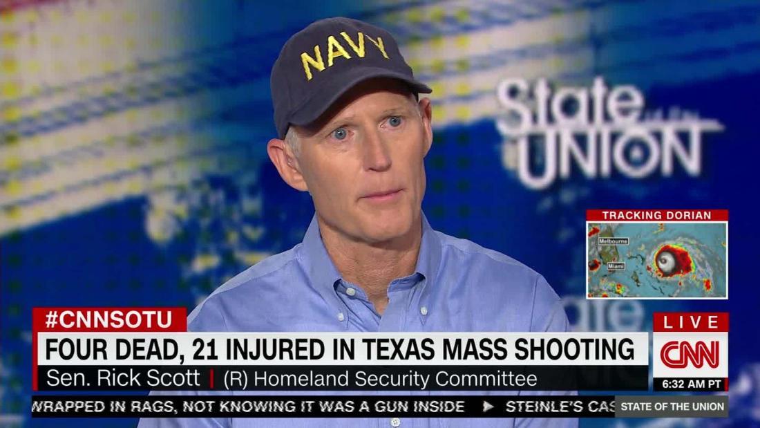 Bash presses GOP Sen. Scott on gun laws