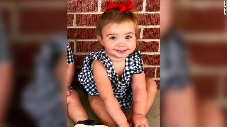 A 17-month-old girl was injured by gunfire on Saturday in Odessa, Texas.