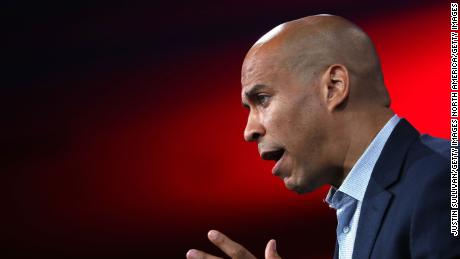 Booker says he was 'taken aback' by Bloomberg calling him 'well-spoken'