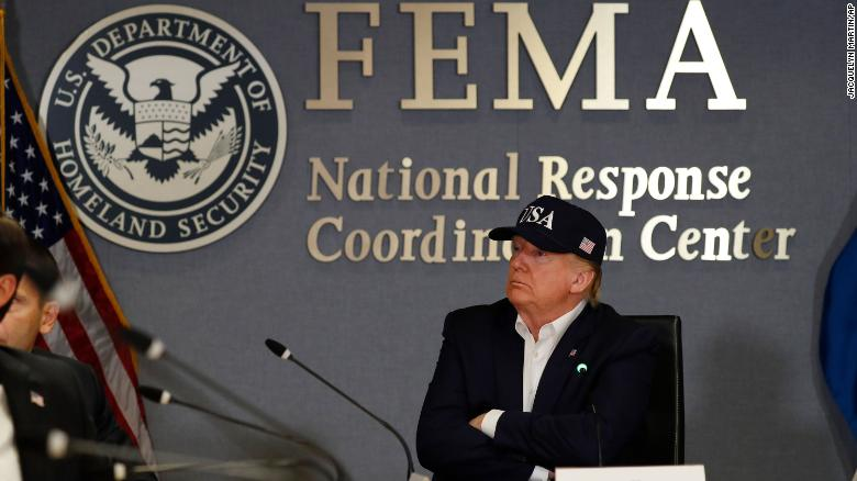 Trump: I'm not sure I've heard of a Category 5 hurricane