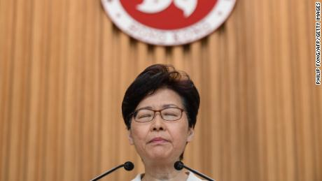 After months of protests, Hong Kong leader Carrie Lam withdraws controversial extradition bill