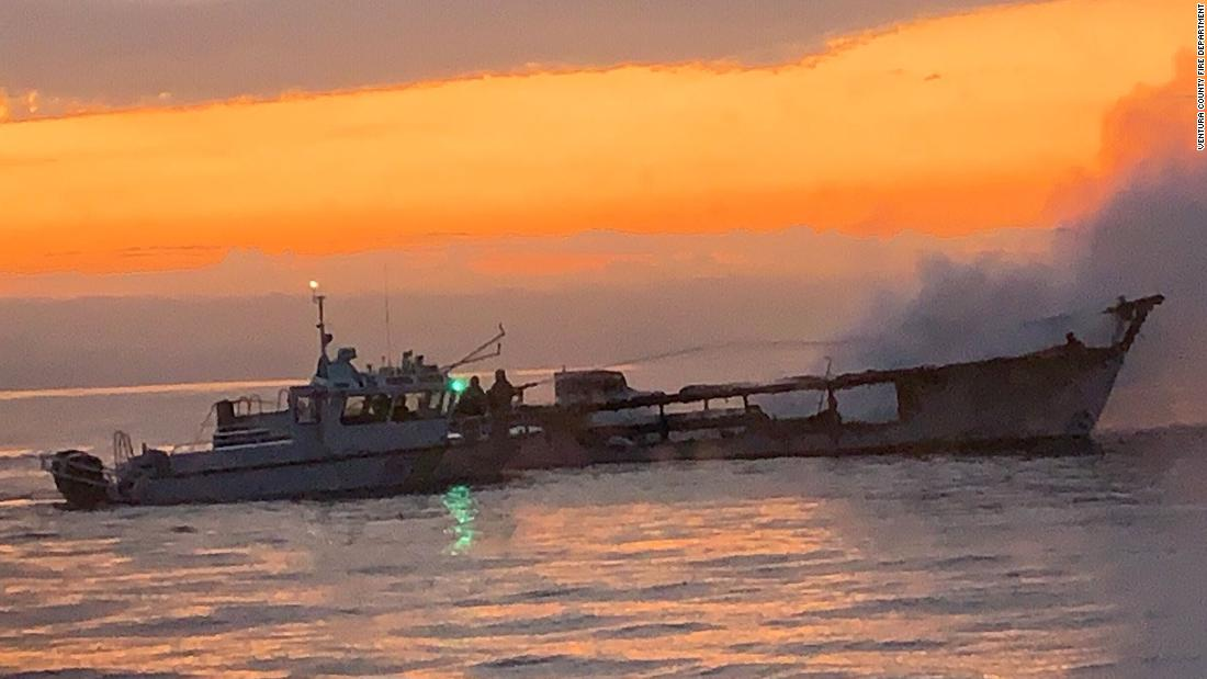 Authorities serve search warrants on the owner of the California dive boat that burned last week