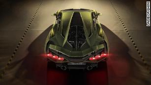 Lamborghini\u0027s first hybrid car is also its fastest , CNN