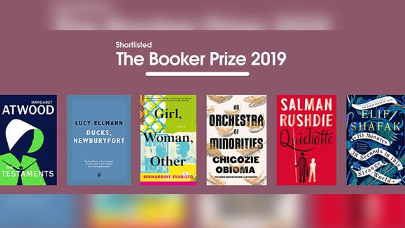 These six books were shortlisted for the 2019 Booker Prize for Fiction.