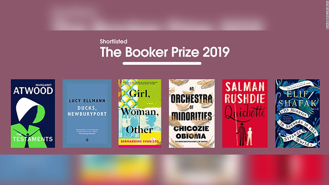 These are the books on the coveted Booker Prize 2019 shortlist