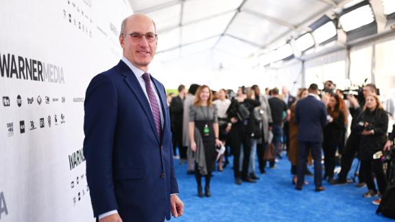 NEW YORK, NEW YORK - MAY 15: John Stankey, CEO, WarnerMedia attends the WarnerMedia Upfront 2019 arrivals on the red carpet at The Theater at Madison Square Garden on May 15, 2019 in New York City. 602140 (Photo by Mike Coppola/Getty Images for WarnerMedia)