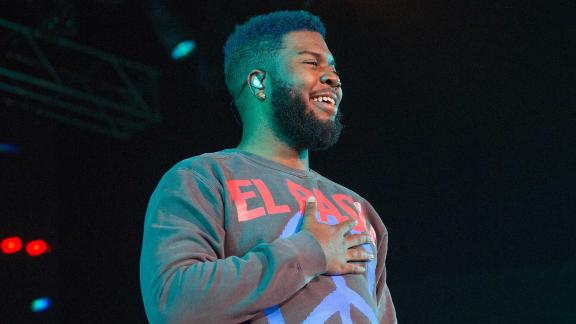 EL PASO, TEXAS - SEPTEMBER 01: Khalid performs onstage during 'A Night For Suncity' benefit concert with Khalid & Friends at the Don Haskins Center on September 01, 2019 in El Paso, Texas. (Photo by Rick Kern/Getty Images for Live Nation )