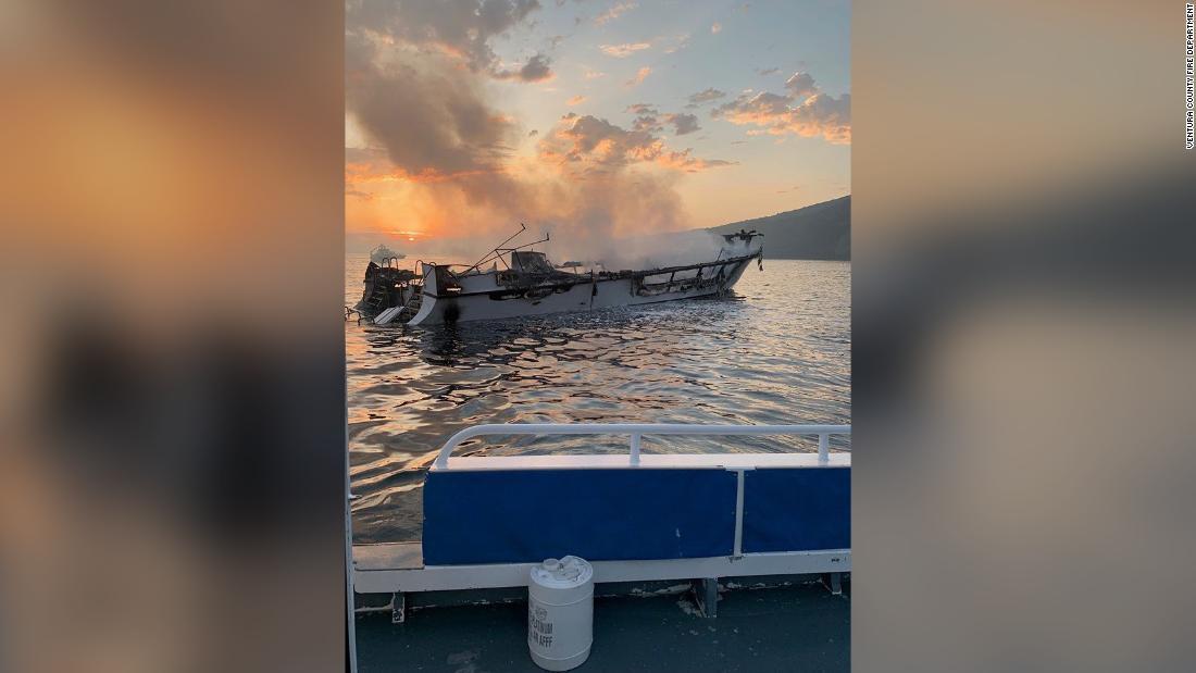 5 family members feared dead in boat fire