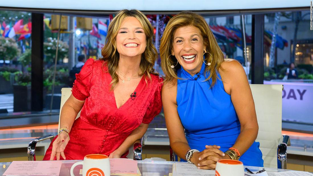 Hoda Kotb returns to the 'Today' show after her maternity leave