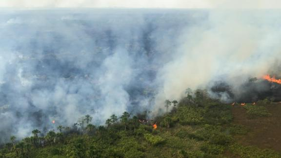 The Brazilian state of Rondônia has had over 6,000 fires burning so far this year, according to Brazil's National Institute for Space Research (INPE).