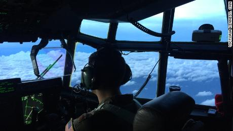 A Hurricane Hunter pilot steers into Dorian's path to gather data.