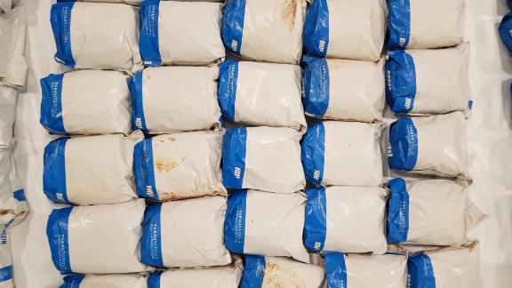 The haul follows a 398 kilogram seizure at the port of Felixstowe in August.