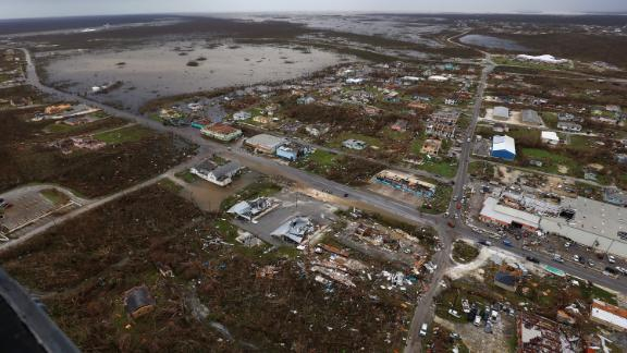 The Abaco Islands in the northern Bahamas were among the hardest hit.