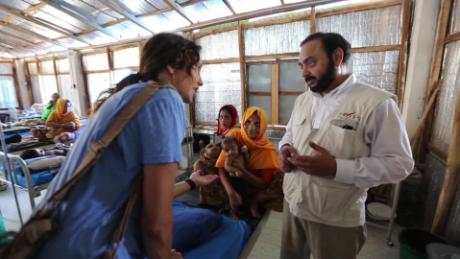 Providing health care for Rohingya refugees