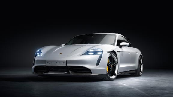 Porsche's first electric car has almost no switches, knobs
