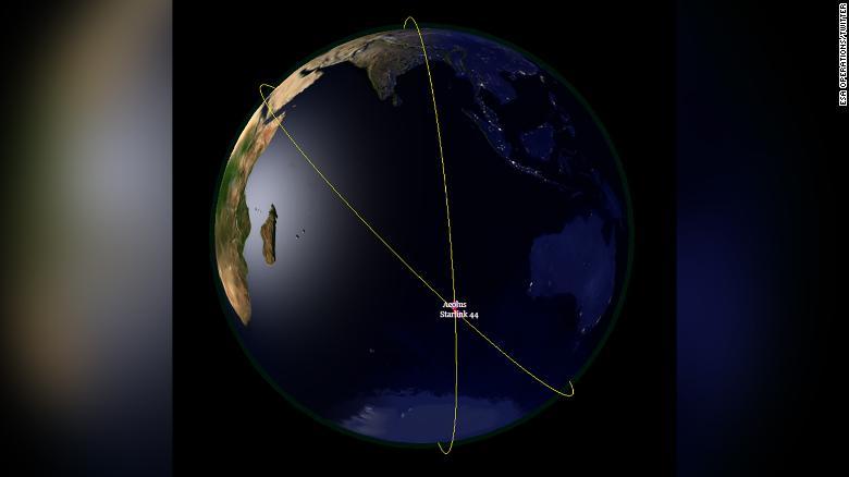 A ESA afirma que novos sistemas de prevenção de colisões são necessários à medida que o número de satélites no espaço aumenta.