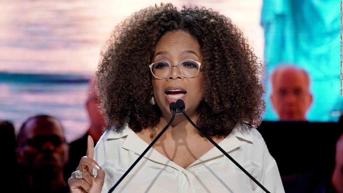 Oprah has announced her