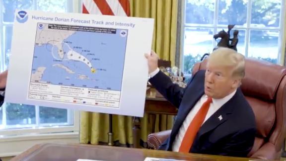 President @realDonaldTrump gives an update on Hurricane #Dorian: 1:26 PM · Sep 4, 2019·WH Digital