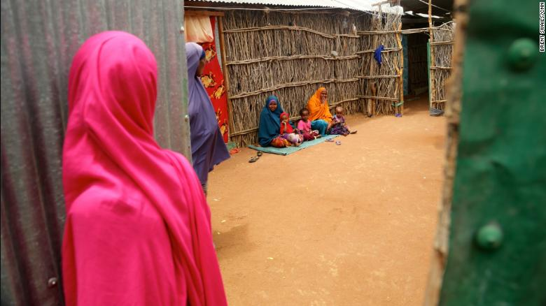 In Kenya, there are close to 500,000 registered refugees and asylum-seekers in camps like Dadaab, once the world's largest.