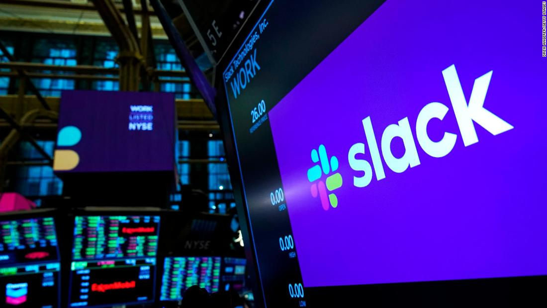 Slack's stock plunges after Microsoft says Teams has 20 million users
