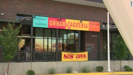 Restaurant sells tacos and burritos with names like 'The