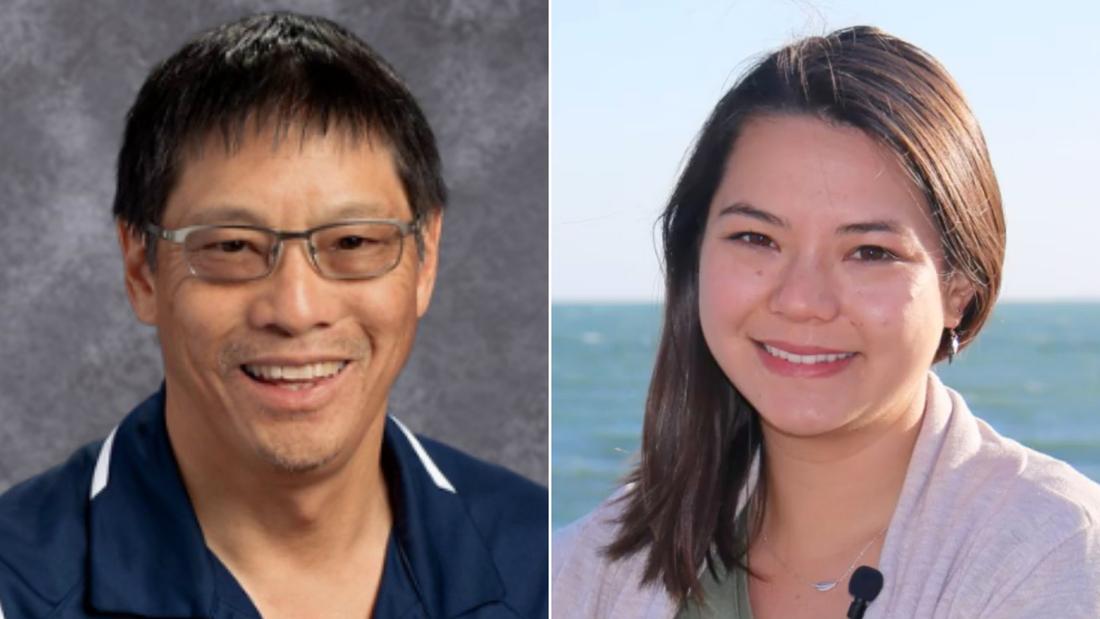 Scott Chan and Kendra Chan.