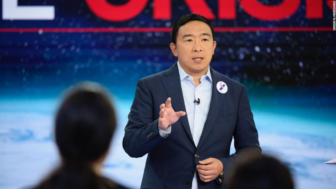 Andrew Yang wades into backlash over new 'SNL' cast member's bigoted comments