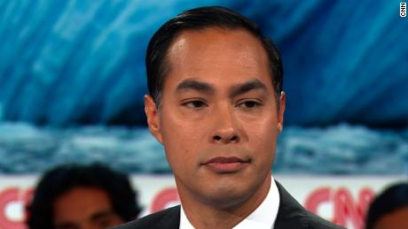 Student calls out Julian Castro's record on fracking