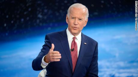 Joe Biden says it's 'totally appropriate' for voters to consider his age