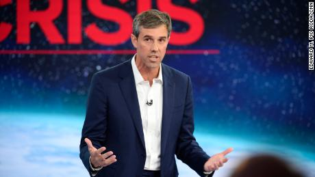 Image result for Beto cnn climate town hall