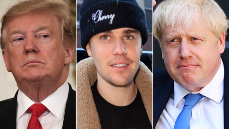 The lesson Justin Bieber could teach Boris Johnson and Donald Trump