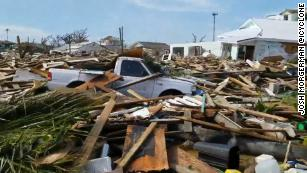 They came to enjoy paradise. Now, they're helping their Bahamian neighbors recover from Dorian's wrath