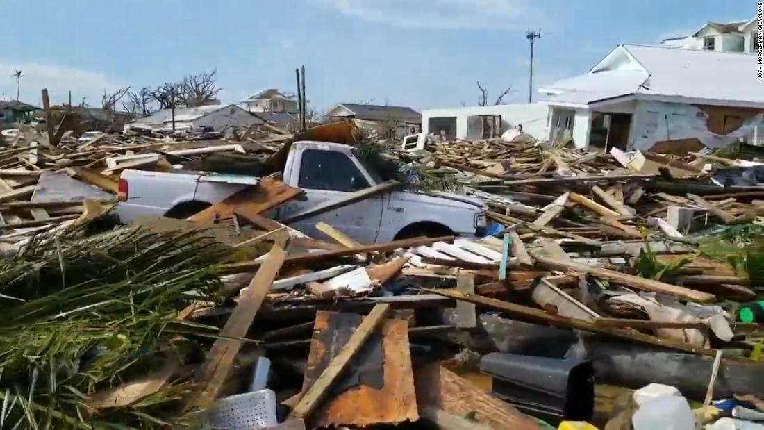 2.500 Menschen werden vermisst, fast zwei Wochen nachdem Hurrikan-Dorian trifft den Bahamas
