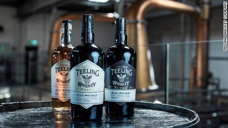 Teeling Whiskey Company produced 900,000 bottles of whiskey last year.