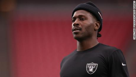 Antonio Brown's ex-girlfriend asks him to get help after police issue an arrest warrant for him