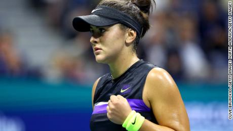 Bianca Andreescu reached her first grand slam final at the US Open.