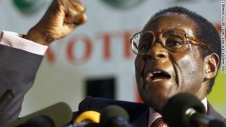 IMG ROBERT MUGABE, Zimbabwe's Founding Leader