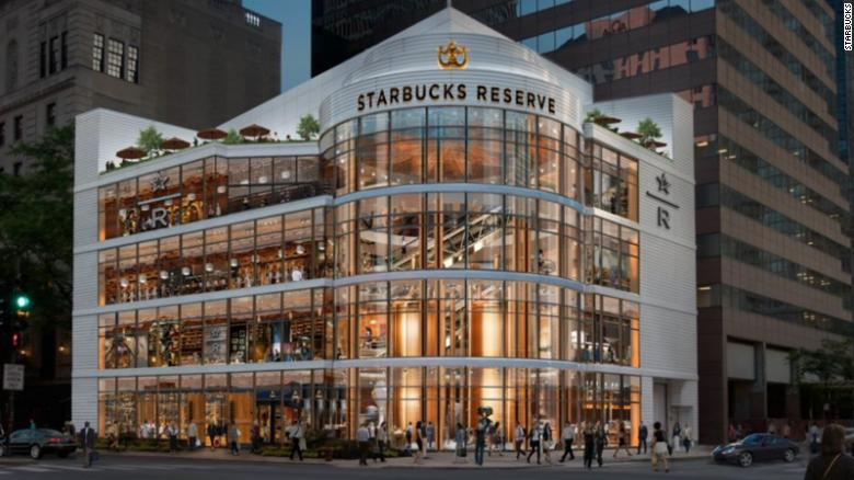 A rendering of the new Chicago location.