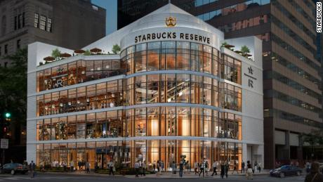 The world's largest Starbucks will open in Chicago